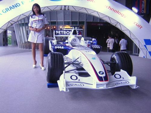 BMW F1マシン